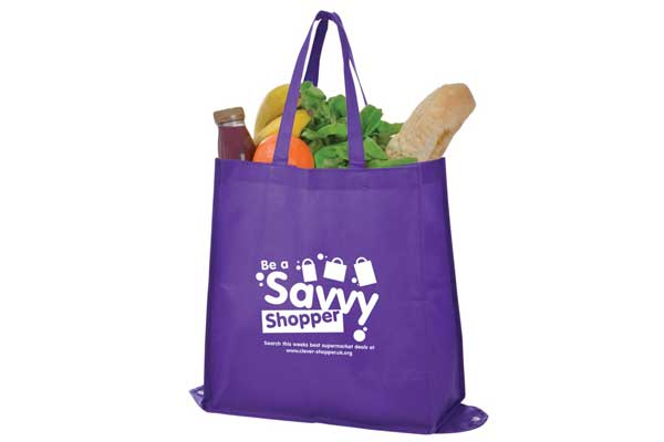 branded shopping bag