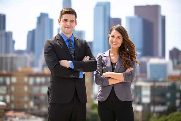 branded office suits